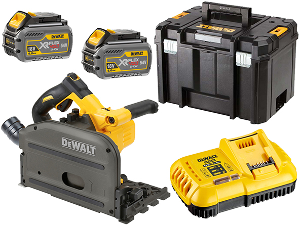 Dewalt DCS520T2 FlexVolt Track Saw Kit EU Version
