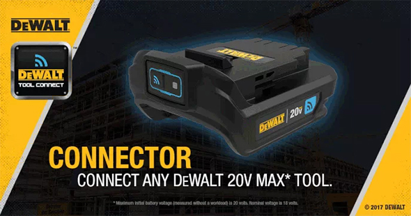 Dewalt Tool Connect 20V Max Cordless Power Tool Connector