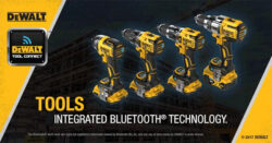 New Dewalt Bluetooth-Connectable Power Tools and Add-on Modules