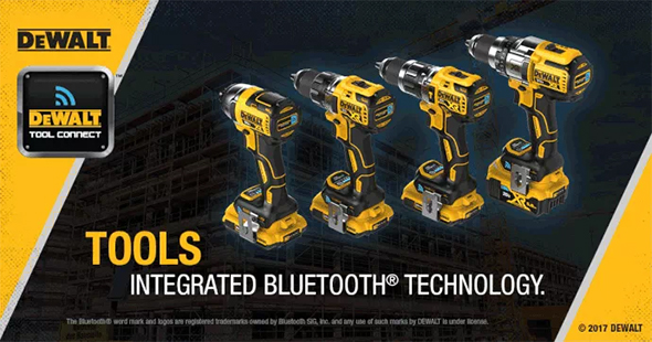 Dewalt Tool Connect Bluetooth Cordless Tools