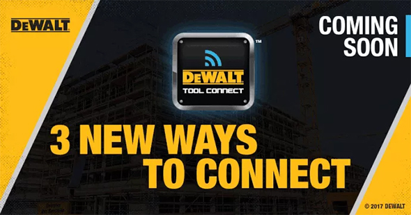 Dewalt Tool Connect Teaser