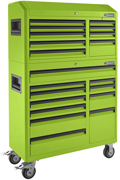 New White Kobalt 41″ Tool Chest Combo