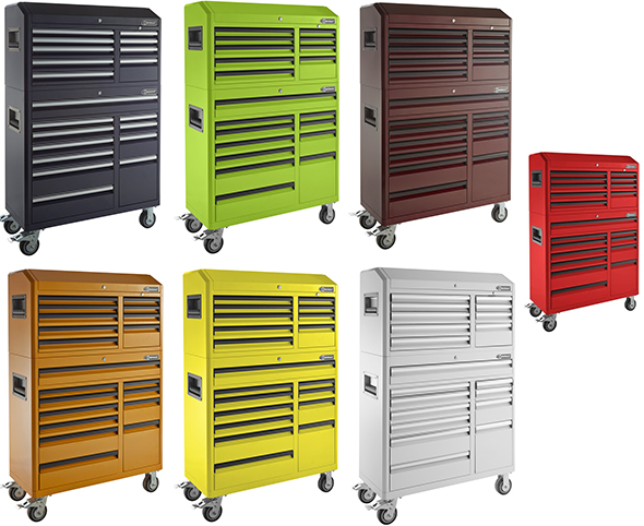 Lowes Kobalt Tool Storage Combos in Bright Colors