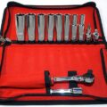 Milwaukee 12pc pivoting head ratchet set product shot