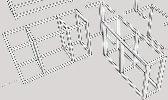 ToolGuyd 8020 Corner Workbench Build Brainstorming Feb 2017