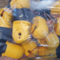 Bag of Dewalt 20V DCL040 LED Worklight Heads
