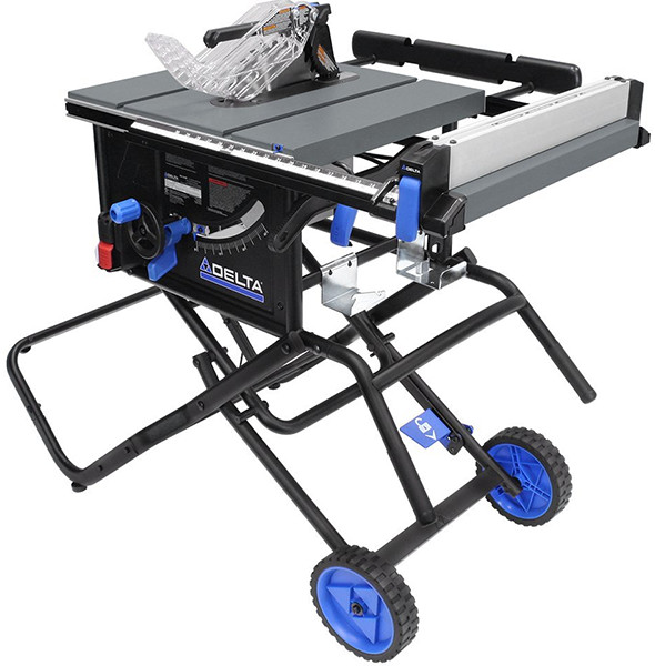 New delta portable table saw with stand 6000 series Portable table saw reviews