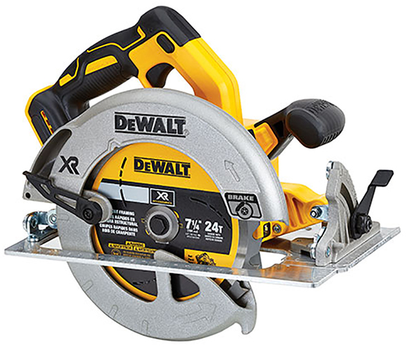 Teaser dewalt 20v max brushless 7 1 4 circular saw for Dewalt 20v brushless motor