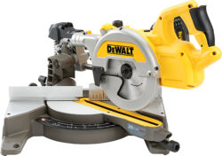 Dewalt FlexVolt 10″ and 8.5″ FlexVolt Sliding Miter Saws (Outside USA)