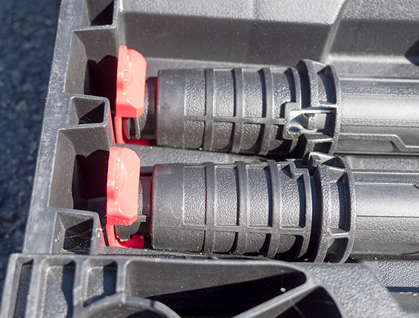 Husky Portable Workbench Leg Storage Clips