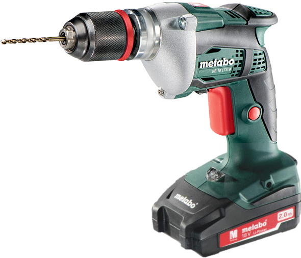 Metabo BE 18 LTX 6 Drill with Battery