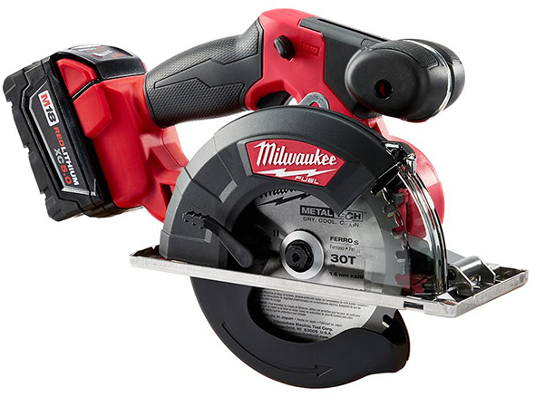 Using a woodworking circular saw to cut metal milwaukee 2782 22 m18 metal cutting circular saw greentooth Choice Image