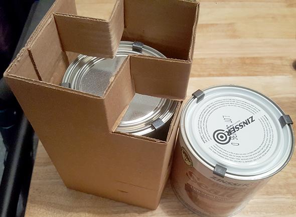 Rockler Wood Finish Quart Packaging