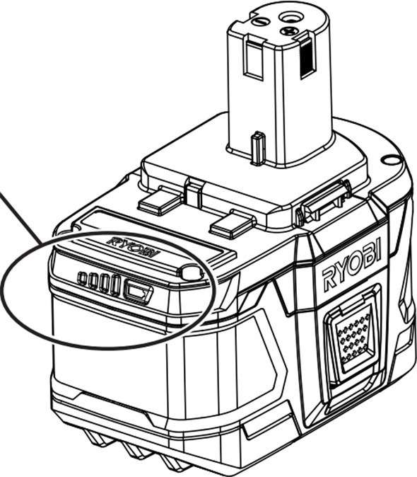 Ryobi 18V Large Battery Pack