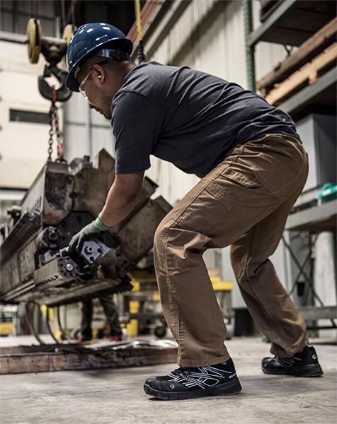 Wolverine Jetstream Safety Shoe Equipment Action Photo