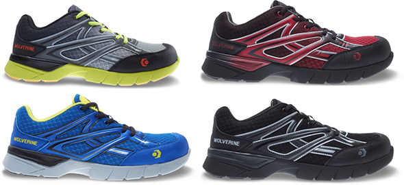 Wolverine Jetstream Safety Shoe Mens Colors