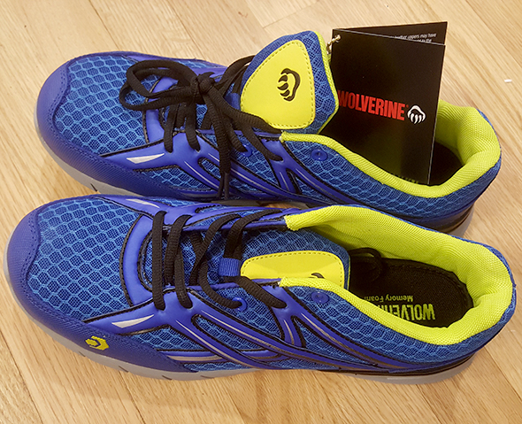 50a410c11d5 Wolverine Jetstream Work Shoes – First Weekend Review