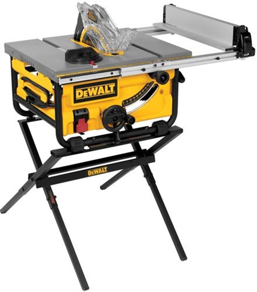 Dewalt DWE7480XA Table Saw with Stand