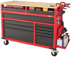 New Milwaukee 52″ Mobile Workbench