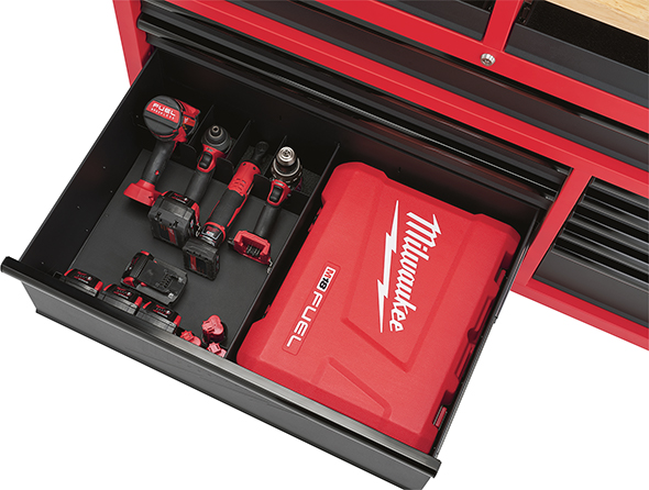 Milwaukee 52-Inch Mobile Workbench 48-22-8522 Power Tool Organizer