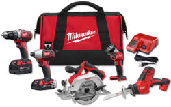 Deal of the Day: Milwaukee M18 5-Tool Cordless Combo Kit (4/4/2017)