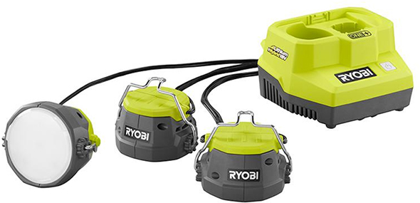 Ryobi 18V and AC Hybrid LED Cable Light
