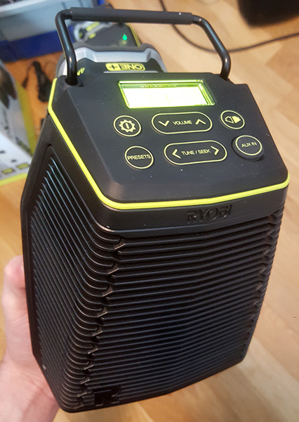 Ryobi SCORE Primary Wireless Speaker