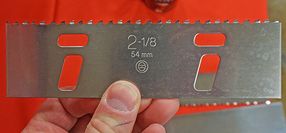 Stamped hole saw blank