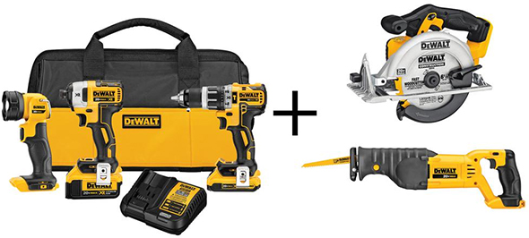 Dewalt 20V Max Fathers Day Cordless Combo Kit Deal