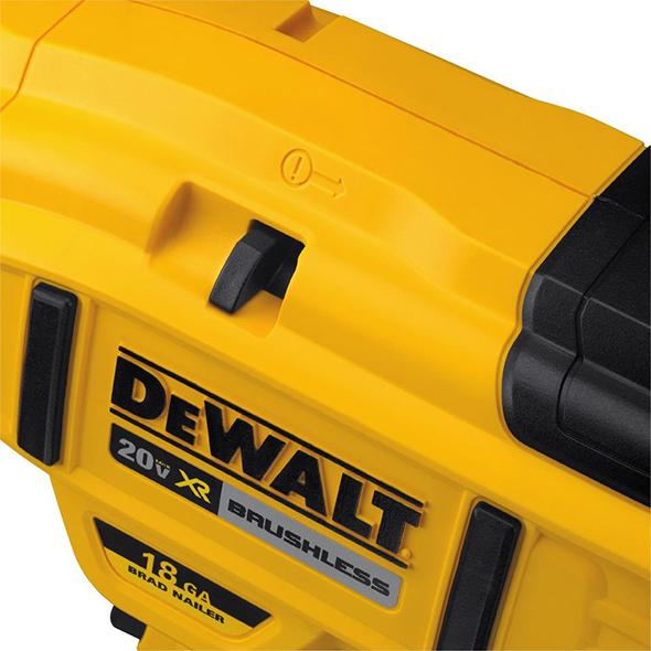 Dewalt DCN680D1 Brushless Brad Nailer Stall Release