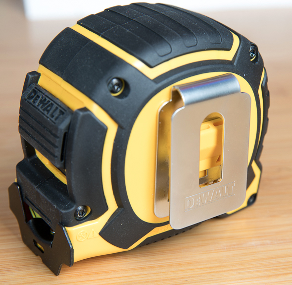 Dewalt XP Tape Measure Back Side