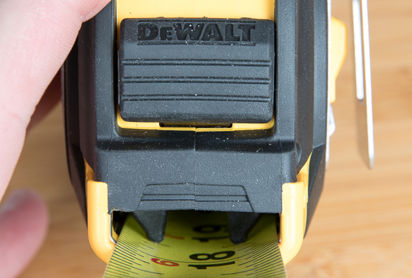 Dewalt XP Tape Measure Locking Mechanism