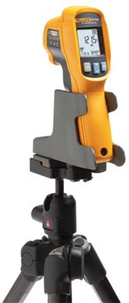 Fluke 64 Max IR Thermometer in Tripod Mount