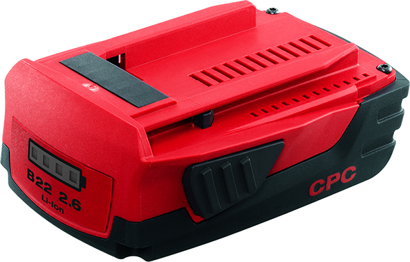 Hilti 22V Battery Pack Compact Size