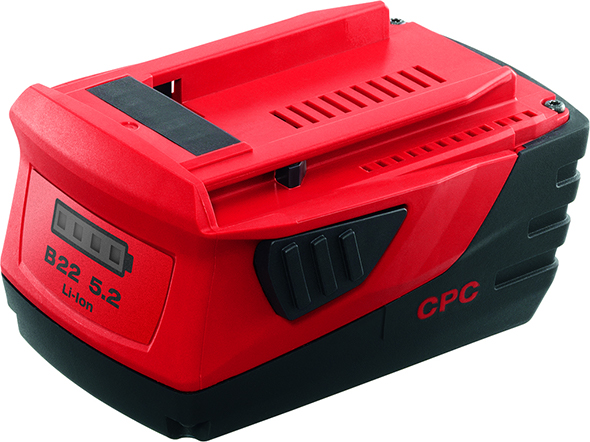 Hilti 22V Battery Pack Higher Capacity Size