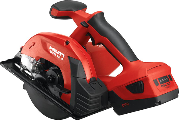 Hilti Circular Saw with 22V Battery Pack