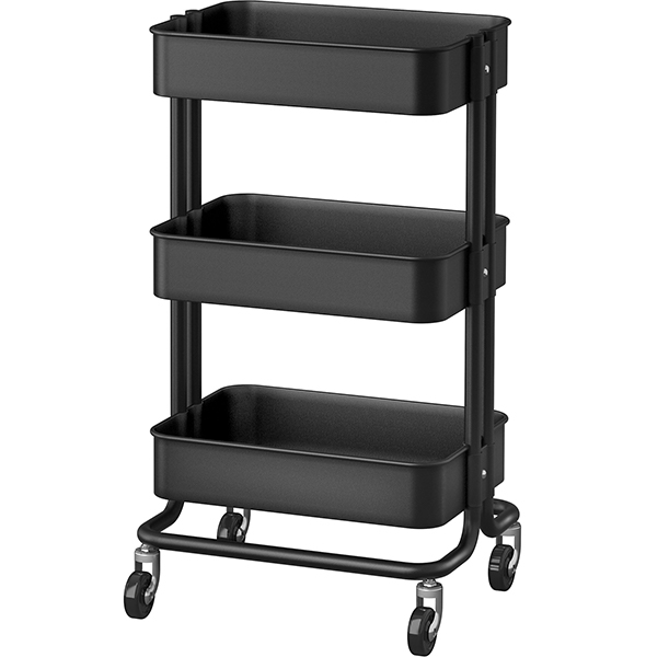 Ikea Raskog Cart Black