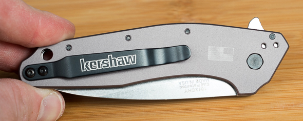 Kershaw Dividend Knife Back with Pocket Clip