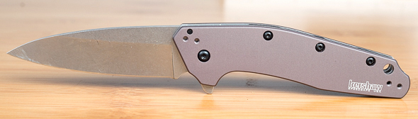Kershaw Dividend Knife Open