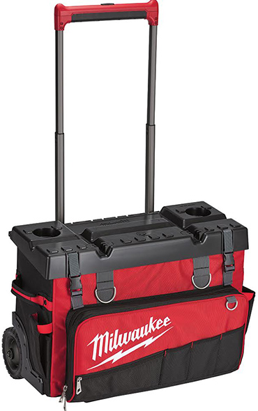 Milwaukee 24 inch rolling tool bag product shot