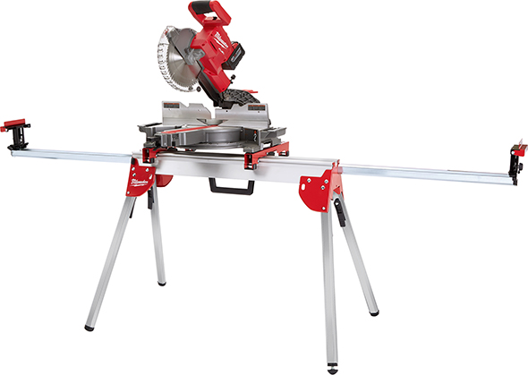 Milwaukee Miter Saw Stand 40-08-0551 with M18 Fuel Saw