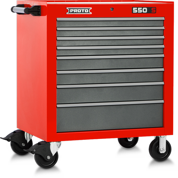 proto 550s tool storage cabinet is freakin' amazing (34″, 8-drawers)