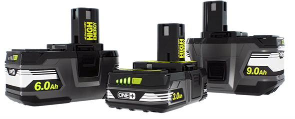 Ryobi 18V High Energy Battery Packs