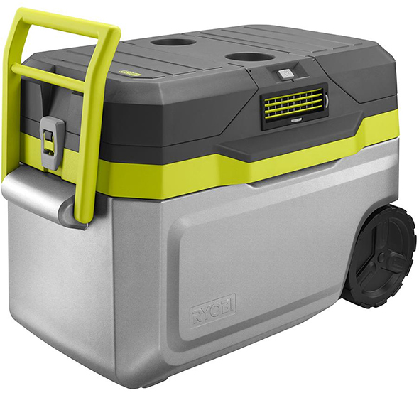 Charge Air Cooler Ice Box : New ryobi v one cooling cooler