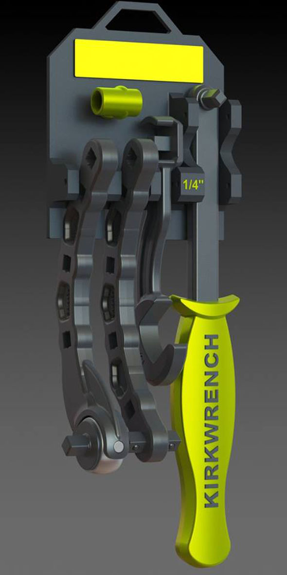 The Kirk Wrench pro set