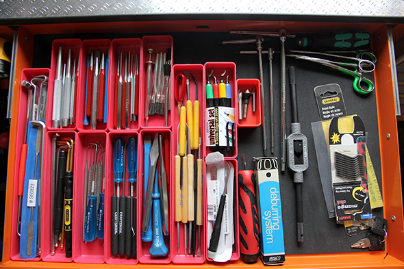 ToolGuyd Small Tools Drawer March 2011