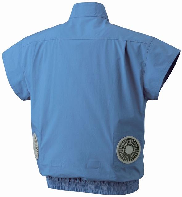 Zippkool fan cooled short sleeve shirt