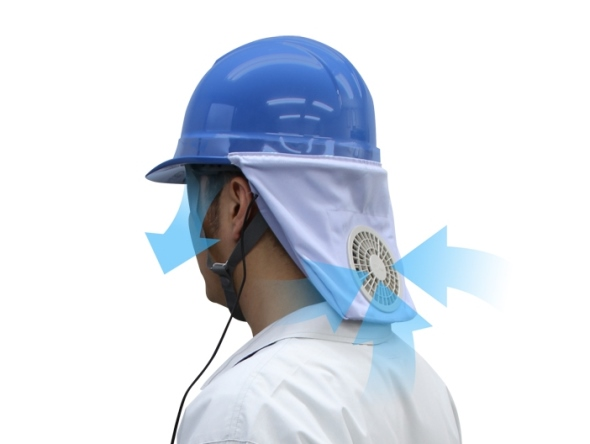 Zippkool helmet fan