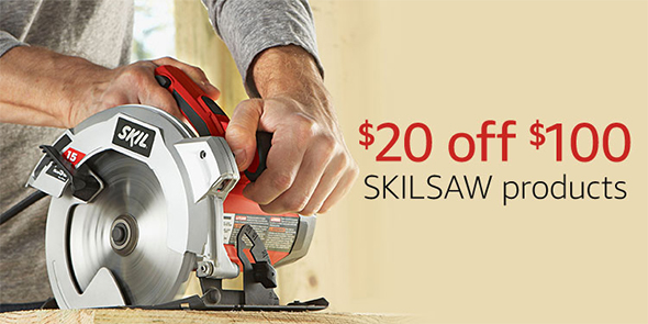 Amazon Skilsaw Coupon Father's Day 2017