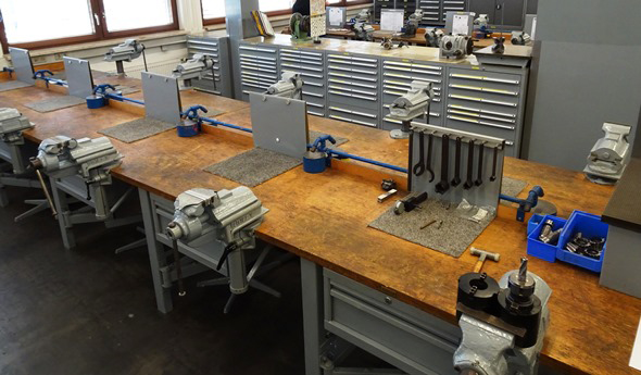 Apprentice Workbenches at Metabo